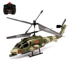 Вертолет радиоуправляемый «Военный», световые эффекты, цвета МИКС