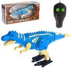Динозавр радиоуправляемый «Робозавр», 2 функции, световые и звуковые эффекты, МИКС