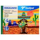 Бумага цветная глянцевая НАБОР B4 240*320 мм Sadipal 10 цветов