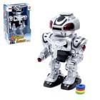 """Робот """"Бласт"""", работает от батареек, русский звуковой чип, световые эффекты"""