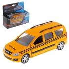 Модель машины такси - Lada Largus, масштаб 1:38