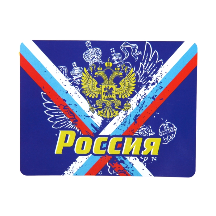 Плед Collorista Россия 80х100 см, 100% п/э флис, 180 гр/м2