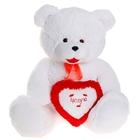 """Мягкая игрушка """"Медведь с сердцем большой"""""""