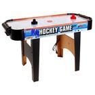 Игра настольная «Аэрохоккей», работает от сети, световые и звуковые эффекты