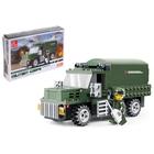 Конструктор Армия «Военный грузовик», 182 детали