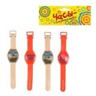 Головоломка «Часы», набор 4 шт, цвета МИКС