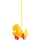 """Каталка на палочке """"Солнечный Слонёнок"""", длина ручки 54 см"""