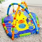 Коврик развивающий с дугами «Улыбка детства», 5 игрушек-пищалок