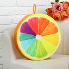 """Мягкая игрушка """"Разноцветный апельсин"""""""
