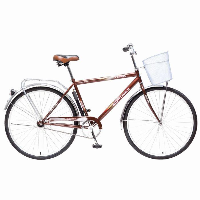 Велосипед 28 Novatrack Fusion, 2015, цвет коричневый, размер 20