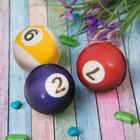 """Мягкий мяч """"Цифры"""", 5 см, цвета МИКС"""