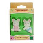 Игровой набор «Белые Мышата-двойняшки»