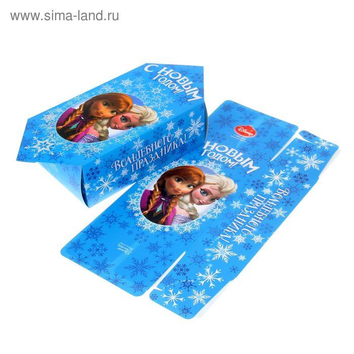 """Сборная коробка-конфета """"С Новым годом"""", 14 х 22 см"""