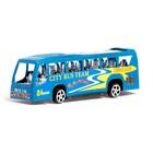 Автобус инерционный «Городская экскурсия», цвета МИКС