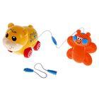 """Забавные животные """"Медвежонок"""", со звуком, на дистанционном управлении с пультом, работает от батареек, в пакете"""